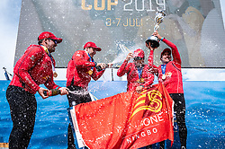 . 2019 World Match Racing Tour Final in Marstrand, Sweden, 7 July 2019. Photo: Drew Malcolm for ChinaOne.Ningbo.
