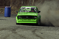 Motor. Bakkeløp i Vikersund 29.4.2000. Steinar Johannessen, NMK Drammen. Ford Escort. Foto: Digitalsport.