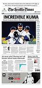 Hisashi Iwakkuma, no-hitter, Mariners, pro baseball, pitcher, batter, MLB, Major League Baseball,