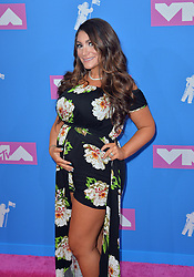 August 20, 2018 - New York, New York, United States - Deena Nicole Cortese arriving at the 2018 MTV Video Music Awards at Radio City Music Hall on August 20, 2018 in New York City  (Credit Image: © Kristin Callahan/Ace Pictures via ZUMA Press)