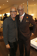 New York, NY-December 3: (L-R) Photographer George Chinsee and Model Rashid Silvera attend Harriette Cole's 20th Anniversary Business Celebration held at Lafayette 148 Headquarters on December 3, 2015 in New York City.  (Photo by Terrence Jennings/terrencejennings.com)