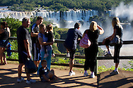 Fans and Overalls at Iguacu Falls at the 2013 X Games Foz do Iguacu in Foz do Iguaçu, Brazil. ©Brett Wilhelm/ESPN