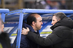 January 26, 2019 - Strasbourg, France - RICARDO GOMES (MANAGER GENERAL BORDEAUX) - THIERRY LAUREY (ENTRAINEUR STRASBOURG) - FAIR PLAY (Credit Image: © Panoramic via ZUMA Press)