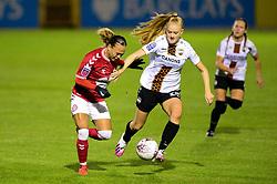 Ebony Salmon of Bristol City Women breaks away - Mandatory by-line: Dougie Allward/JMP - 07/10/2020 - FOOTBALL - Twerton Park - Bath, England - Bristol City Women v London Bees - FA Continental Cup
