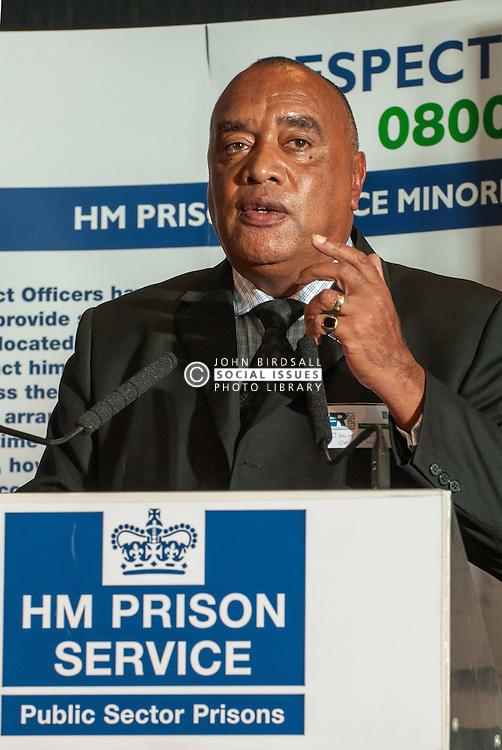 Colin Moses of the Prison Officers Association 2009