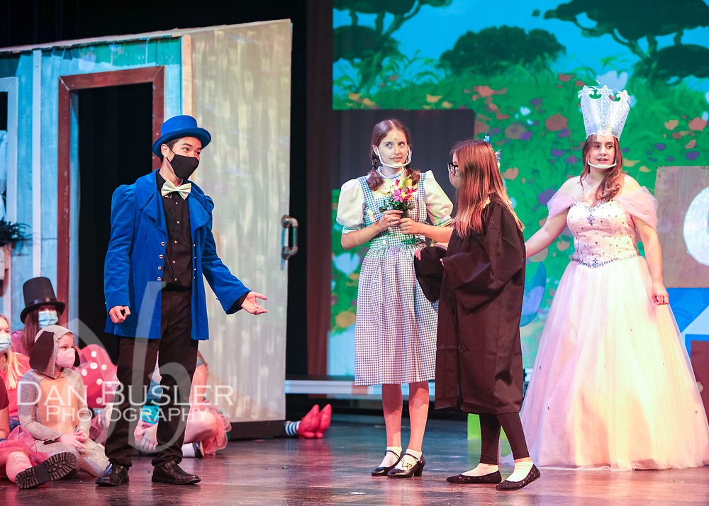 """Norwood Department of Fine Arts presents """"The Wizard of OZ"""" at Norwood High School, September 2021 featuring all the songs, lovable characters, and costumes from the classic movie."""