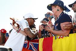 July 30, 2017 - Budapest, Hungary - Motorsports: FIA Formula One World Championship 2017, Grand Prix of Hungary, ..#44 Lewis Hamilton (GBR, Mercedes AMG Petronas F1 Team) (Credit Image: © Hoch Zwei via ZUMA Wire)