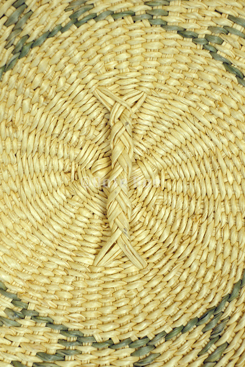 close up of woven basket