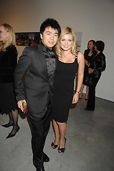 Singer KATHERINE JENKINS and pianist LANG LANG at the Montblanc de la Culture Arts Patronage Award 2008 presented to Louise Blouin MacBain at the Louise Blouin MacBain Institute, 3 Olaf Street, London W11 on 16th April 2008.<br /><br />NON EXCLUSIVE - WORLD RIGHTS
