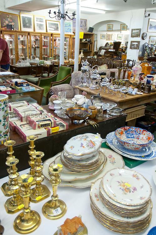 Antique auction room