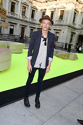 JAMIE CAMPBELL-BOWER at the preview party for The Royal Academy Of Arts Summer Exhibition 2013 at Royal Academy of Arts, London on 5th June 2013.