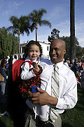 January 19, 2009 - Santa Barbara, CA: CA: Santa Barbara Honors Dr. Martin Luther King, Jr. with a morning program at De la Guerra Plaza.  (Photo by Rod Rolle)
