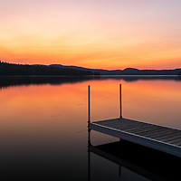 I traveled way up north to New Hampshire to Colebrook and North Country along moose alley near the Canadian border and stopped at Back Lake for a sunset picture.      <br /> <br /> Northern New Hampshire Back Lake sunset photography images are available as museum quality photography prints, canvas prints, acrylic prints or metal prints. Prints may be framed and matted to the individual liking and decorating needs at:<br /> <br /> https://juergen-roth.pixels.com/featured/sunset-at-new-hampshire-back-lake-juergen-roth.html<br /> <br /> All high resolution New England photography images from around all six states are available for photo image licensing at www.RothGalleries.com. Please contact me direct with any questions or request. <br /> <br /> Good light and happy photo making!<br /> <br /> My best,<br /> <br /> Juergen<br /> Prints: http://www.rothgalleries.com<br /> Photo Blog: http://whereintheworldisjuergen.blogspot.com<br /> Instagram: https://www.instagram.com/rothgalleries<br /> Twitter: https://twitter.com/naturefineart<br /> Facebook: https://www.facebook.com/naturefineart