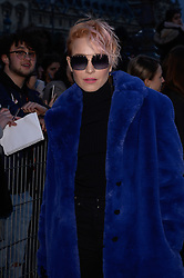 Noomi Rapace arriving at the Louis Vuitton show as part of the Paris Fashion Week Womenswear Fall/Winter 2018/2019 in Paris, France on March 6, 2018. Photo by Julien Reynaud/APS-Medias/ABACAPRESS.COM