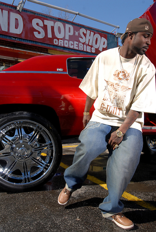 """Immigrant Film shoots """"Get Buck"""" music video for G-Unit/Interscope Records recording artist, Young Buck in Atlanta, Georgia, February 7, 2007....Hasain Rasheed Photography 2007Immigrant Film shoots """"Get Buck"""" music video for G-Unit/Interscope Records recording artist, Young Buck in Atlanta, Georgia, February 7, 2007....Hasain Rasheed Photography 2007"""
