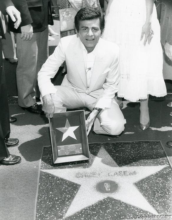 1981 Casey Kasem's Walk of Fame ceremony