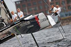 © Sander van der Borch. Kiel - Germany, 27th of August 2009. iShares cup. Practice day.