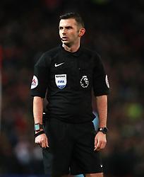 Match referee Michael Oliver