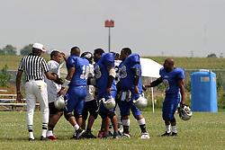 10 July 2004     Twin City Storm Vs. Chicago Falcons.  Semi-Professional Football.  Interstate Center, Bloomington-Normal Illinois