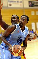 Basketball<br /> BLNO<br /> 18.09.,2011<br /> Foto: Morten Olsen, Digitalsport<br /> <br /> Frøya v Bærum Basket<br /> <br /> Donald Oatis - Bærum<br /> Peter Bullock - Frøya