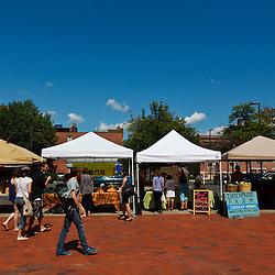 Tuesday Market farmer's market in Northampton, Massachusetts.