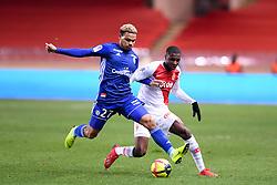 January 19, 2019 - Monaco, France - 02 FODE BALLO TOURE (MONA) - 27 KENNY LALA  (Credit Image: © Panoramic via ZUMA Press)