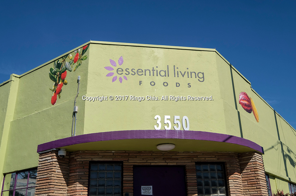 Essential Living Foods' headquarters at 3550 Hayden Ave, Culver City.(Photo by Ringo Chiu/PHOTOFORMULA.com)<br /> <br /> Usage Notes: This content is intended for editorial use only. For other uses, additional clearances may be required.