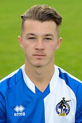 Jay Malpas - Mandatory byline: Dougie Allward/JMP - 07966386802 - 03/08/2015 - FOOTBALL - Bristol Rovers Training Ground -Bristol,England - Bristol Rovers Headshots