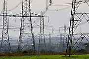 Electricity pylons, England, United Kingdom