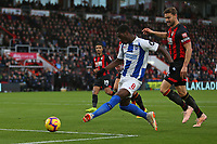 Football - 2018 / 2019 Premier League - AFC Bournemouth vs. Brighton & Hove Albion<br /> <br /> Yves Bissouma of Brighton gets a shot well saved at the Vitality Stadium (Dean Court) Bournemouth <br /> <br /> COLORSPORT/SHAUN BOGGUST