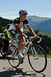 04.07.2011, AUT, 63. OESTERREICH RUNDFAHRT, 2. ETAPPE, INNSBRUCK-KITZBUEHEL, im Bild Thomas Rohregger, (AUT, Leopard Trek) // during the 63rd Tour of Austria, Stage 2, 2011/07/04, EXPA Pictures © 2011, PhotoCredit: EXPA/ S. Zangrando