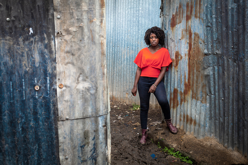 Lilian Mutheu is a mentor in the Dreams project in Nairobi, Kenya.<br /> <br /> DREAMS is an acronym for Determined, Resilient, Empowered, AIDS-free, Mentored, and Safe women. The project aims to empower girls and young women between 10 and 24 years around issues including HIV prevention, contraceptive methods, health, education and social economic intervention.<br /> <br /> Lilian, who is mother, is familiar with some of the issues through her own personal experience and provides guidance and support to hundreds of young women and girls in the extensive slum of Makuru Kwa Njenga in Nairobi.