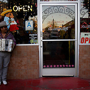 Restaurants in East LA often get free music from the many mariachis who use the streets as their stage. Please contact Todd Bigelow directly with your licensing requests.