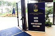 allestimenti<br /> Presentazione Campionato Serie A Poste Mobile 2017/18<br /> Lega Basket Serie A 2017/2018<br /> Castel San Pietro Terme, 25/09/2017<br /> Foto M.Ceretti / Ciamillo - Castoria