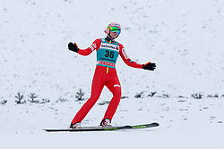 22.12.2013, Gross Titlis Schanze, Engelberg, SUI, FIS Ski Jumping, Engelberg, Herren, im Bild Dawid Kubacki (POL) // during mens FIS Ski Jumping world cup at the Gross Titlis Schanze in Engelberg, Switzerland on 2013/12/22. EXPA Pictures © 2013, PhotoCredit: EXPA/ Eibner-Pressefoto/ Socher<br /> <br /> *****ATTENTION - OUT of GER*****