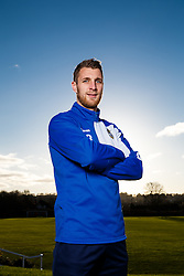 Lee Brown of Bristol Rovers poses during a portrait session during the 2015/16 Sky Bet League Two campaign - Mandatory byline: Rogan Thomson/JMP - 07966 386802 - 15/01/2016 - FOOTBALL - The Lawns Training Ground - Bristol, England - Sky Bet League Two.