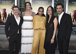 """Special screening of 20th Century Fox's """"The Darkest Minds"""" at ArcLight Hollywood on July 26, 2018 in Hollywood, California. 26 Jul 2018 Pictured: Dan Levine, Mandy Moore, Amandla Stenberg, Jennifer Yuh Nelson, . Photo credit: Scott Kirkland/PictureGroup / MEGA TheMegaAgency.com +1 888 505 6342"""