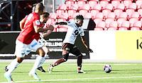 Fotball ,  OBOS-Ligaen<br /> 13.05.18<br /> Gjemselund kunstgress<br /> Kongsvinger v Mjøndalen<br /> Foto :  Dagfinn Limoseth , Digitalsport<br /> Vamouti Diomande , Mjøndalen