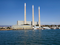 Morro Bay Power Plant owned by Dynegy, California. The current plant was built in the 1950s, and Dynegy wishes to modernize it with a new combined cycle plant.