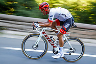 Jasper Stuyven (BEL - Trek - Segafredo) during the 105th Tour de France 2018, Stage 14, Saint-Paul-trois-Chateaux - Mende (188 km) on July 21th, 2018 - Photo Luca Bettini / BettiniPhoto / ProSportsImages / DPPI