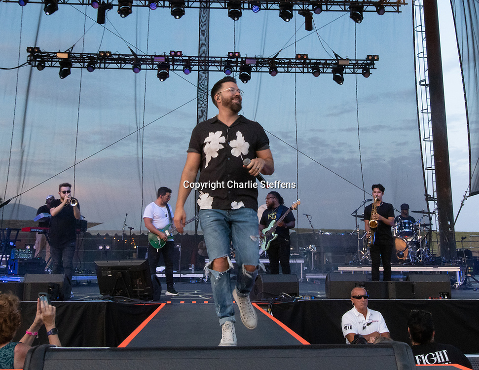 DANNY GOKEY at FishFest 2021 at Five Point Amphitheater in Irvine, California