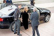 Koningin Máxima is maandagmiddag 23 november aanwezig bij de lancering van 'De Staat van het MKB' in