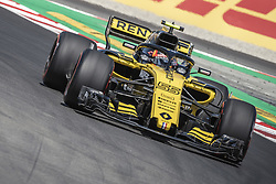 May 11, 2018 - Barcelona, Catalonia, Spain - CARLOS SAINZ JR. (ESP) drives during the first practice session of the Spanish GP at Circuit de Catalunya in his Renault RS18 (Credit Image: © Matthias Oesterle via ZUMA Wire)