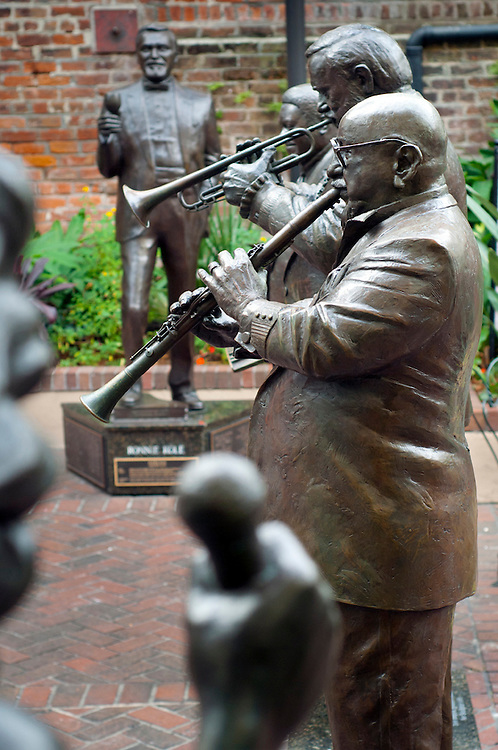 Louisiana, New Orleans, French Quarter, Bourbon Street, Musical Legends Park