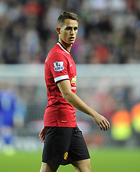 Manchester United's Adnan Januzaj - Photo mandatory by-line: Joe Meredith/JMP - Mobile: 07966 386802 26/08/2014 - SPORT - FOOTBALL - Milton Keynes - Stadium MK - Milton Keynes Dons v Manchester United - Capital One Cup