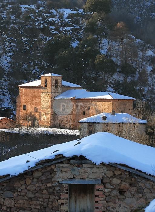 ERmita de Santa Maria. Brieva. La Rioja ©Daniel Acevedo / PILAR REVILLA