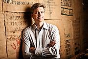 Richard Lautch, Treasurer of Starbucks Coffee.  Photographed by Brian Smale for Treasury & Risk Magazine.