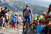 during the 73th Edition of the 2018 Tour of Spain, Vuelta Espana 2018, Stage 13 cycling race, Candas Carreno - La Camperona 174,8 km on September 7, 2018 in Spain - Photo Luca Bettini / BettiniPhoto / ProSportsImages / DPPI
