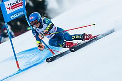 Mikaela Shiffrin (USA) during Ladies' Giant Slalom at 57th Golden Fox event at Audi FIS Ski World Cup 2020/21, on January 17, 2021 in Podkoren, Kranjska Gora, Slovenia. Photo by Vid Ponikvar / Sportida
