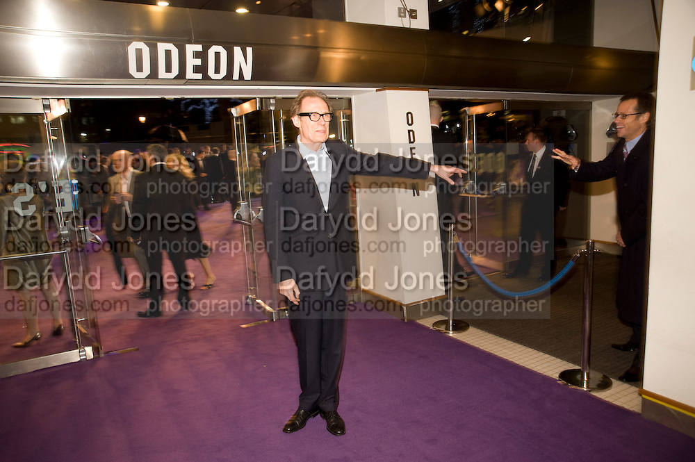 BILL NIGHY, The World Premiere of Young Victoria in aid of Children in Crisis and St. John Ambulance. Odeon Leicesgter Sq. and afterwards at Kensington Palace. 3 March 2009 *** Local Caption *** -DO NOT ARCHIVE -Copyright Photograph by Dafydd Jones. 248 Clapham Rd. London SW9 0PZ. Tel 0207 820 0771. www.dafjones.com<br /> BILL NIGHY, The World Premiere of Young Victoria in aid of Children in Crisis and St. John Ambulance. Odeon Leicesgter Sq. and afterwards at Kensington Palace. 3 March 2009